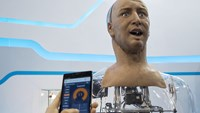 Humanoid robot can recognise and interact with people