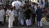 Funeral for Pakistan rights activist