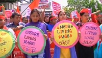May Day protesters across Asia demand higher pay