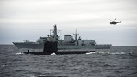 NATO's annual submarine warfare exercise begins in Norway