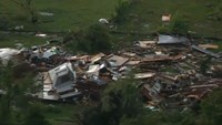 Tornadoes hit southwest of Oklahoma City