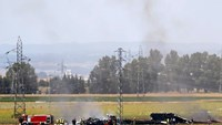 At least three killed in military plane crash in Spain