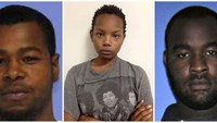 (L-R) Marvin Banks, Joanie Calloway and Curtis Banks are shown in a combo of three undated police handout photos provided by the Hattiesburg Police Department in Hattiesburg, Mississippi May 10, 2015. Photo: Reuters