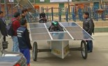 Bolivia's low-cost silent solar car