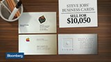 Steve Jobs' business cards sell for $10,050