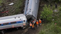 Amtrak train derailed while speeding -NTSB preliminary report