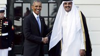 Obama welcomes Gulf leaders to White House
