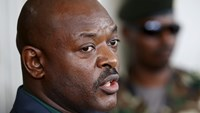 Burundi's President Pierre Nkurunziza speaks during a news conference in Bujumbura, Burundi, May 17, 2015. Photo: Reuters