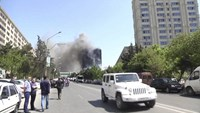At least 16 dead in Baku residential block fire
