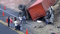 Nine high school students, two adults dead in Mexico truck accident