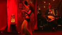 Male belly dancing a hit at a Lebanese theater