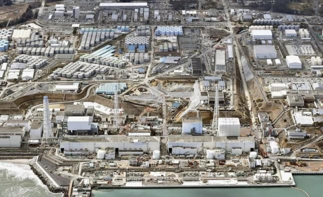 General aerial view of Tokyo Electric Power Co. (TEPCO)'s tsunami-crippled Fukushima Daiichi nuclear power plant in Fukushima prefecture, taken by Kyodo March 11, 2015. Photo: Reuters