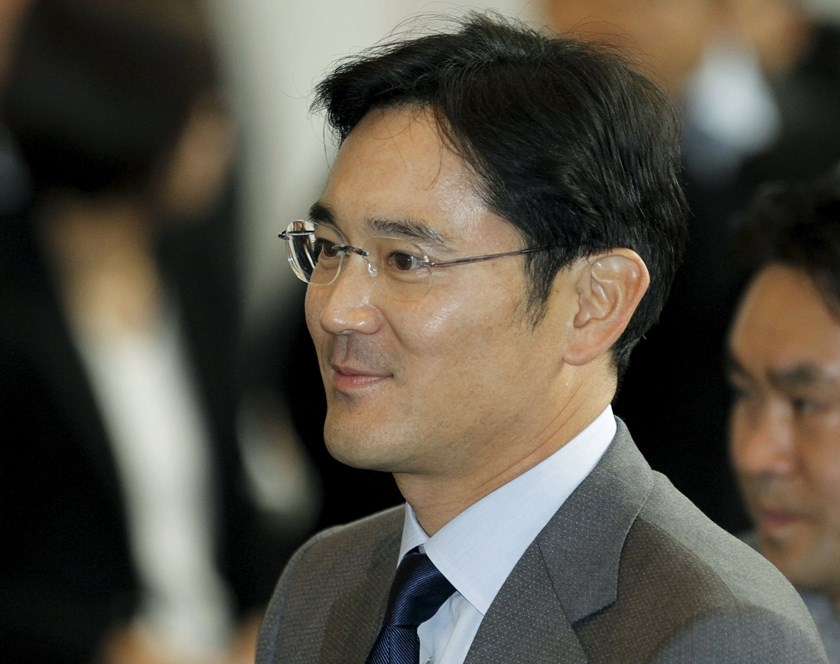 Jay Y. Lee, son of Samsung Electronics chairman Lee Kun-hee arrives at the company's headquarters in Seoul in this December 1, 2010 file photo. Photo: Reuters