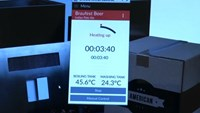 Phone app controlled machine alerts you when your home brewed beer is ready