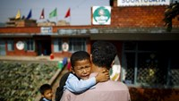 Earthquake damaged schools reopen in Nepal