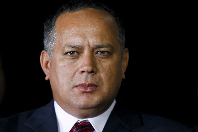 Venezuelan National Assembly President Diosdado Cabello. Photo: Reuters