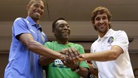 Pele hopes Cosmos match in Cuba aims will improve U.S.-Cuba ties