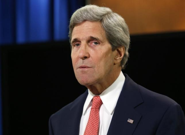 U.S. Secretary of State John Kerry. Photo: Reuters