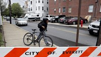 Boston suspect not shot in the back - police