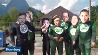Protesters descend on German Alpine town as G-7 begins