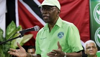 Trinidad justice minister says Warner should go to NY to face charges