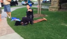 Calls mount to fire Texas officer who threw youth to ground