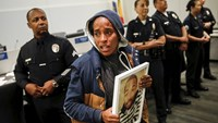 Anger over LA police death ruling