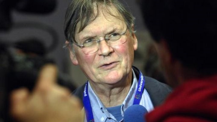 British scientist Tim Hunt shared the 2001 Nobel Prize in Physiology or Medicine for the discovery of protein molecules that control the division of cells.Photo: AFP