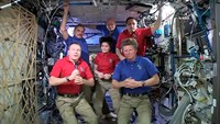 NASA's Virts hands over command of ISS to Russia's Padalka