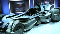 "New batmobile from upcoming ""Batman v Superman"" unveiled"
