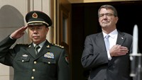 Pentagon repeats call for China to end island building, seeks more military contact