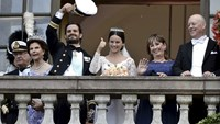 Sweden's Prince Carl Philip marries reality TV star Sofia Hellqvist