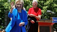 Clinton vows to fight for equality