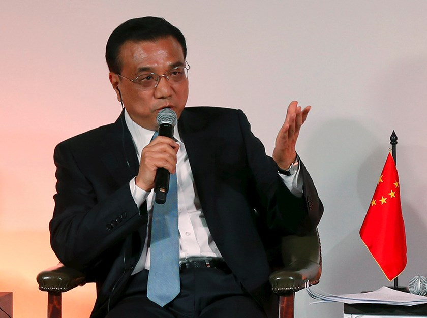 Chinese Premier Li Keqiang. Photo: Reuters