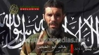 Veteran jihadist Mokhtar Belmokhtar speaks in this undated still image taken from a video released by Sahara Media on January 21, 2013. Photo: Reuters