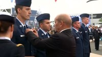 France honors U.S. airman for saving nationals in NATO plane crash