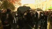 Clashes as teachers face off with authorities in Chile