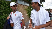 Nadal glad to be healthy, Wawrinka says he's not one of the greats