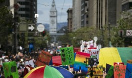 US Gay Pride day gets extra sparkle
