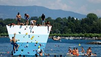 Swiss swelter as summer sizzles