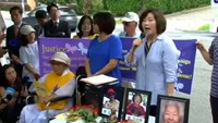 South Korean 'comfort women' take protest to US