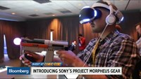 Sony dives into virtual reality with Project Morpheus