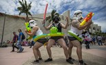 Fans pull out all stops with their Comic-Con costumes