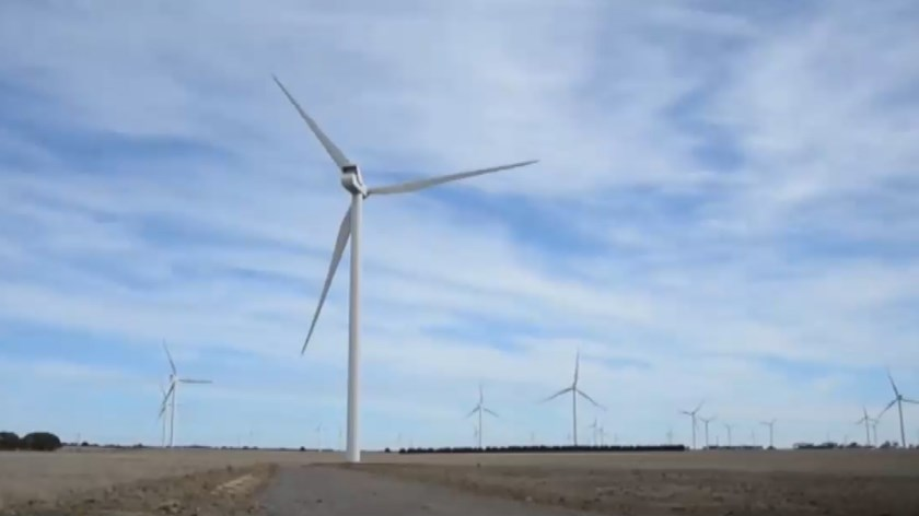 Windfarms are Australia's No. 2 renewable energy source, behind hydropower but ahead of solar, providing a quarter of the country's clean energy and 4 percent of its total energy demand. File photo
