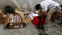 Smugglers bring US meat into mainland China