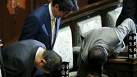Despite protests, lawmakers vote to expand Japan's military role