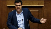 Greek PM keeps lid on party rebellion to pass bailout vote