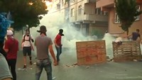 Clashes follow funerals in Turkey