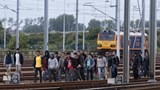 Migrant crisis intensifies near channel tunnel