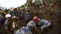 At least 30 killed in Nepal landslides